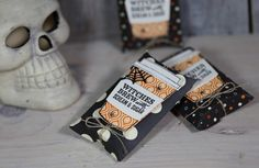 Videoserie 8 Tage Halloween - Tag 5 - Pillowbox mit Stampin' Up!