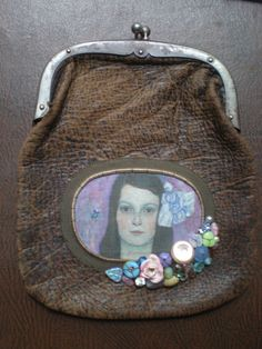 Klimt on another small vintage bag.