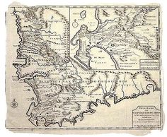 The Cape Colony of South Africa and Jan van Riebeeck, Early History Cape Colony, South Africa Tours, Cartography, Map Art, 17th Century, Colonial, Good Books, Something To Do, Vintage World Maps