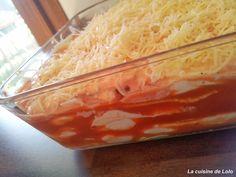 La cuisine de Lolo: Lasagnes jambon/chèvre