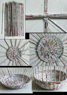 DIY Newspaper Basket with Compartments DIY Newspaper Basket with Compartments Recycled Magazines, Old Magazines, Recycled Crafts, Recycled Magazine Crafts, Recycled Jewelry, Newspaper Basket, Newspaper Crafts, Newspaper Wall, Diy Crafts