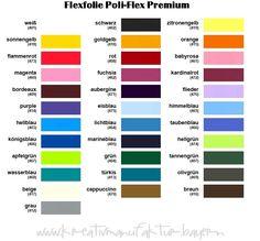 Flexfolie Poli-Flex Premium für Stoffe
