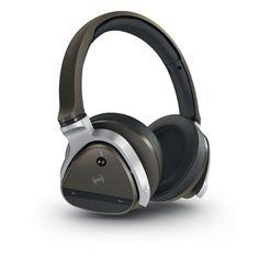 Creative Aurvana Gold: Casque sans fil ANC haut de gamme. Le casque Creative Aurvana Gold vous permet de profiter d'un couplage simple à vos appareils compatibles grâce à la technologie NFC (Near Field Communication) et ses fonctions Bluetooth® 3.0. Doté d'un double microphone intégré, il supprime le bruit ambiant environnant de manière spectaculaire, réduisant le bruit jusqu'à 85 %. Réf. 51EF0570AA001. http://www.exertisbanquemagnetique.fr/info-marque/creative #Creative #Audio #Casque
