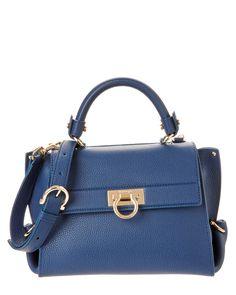 3289c933d9b8 Salvatore Ferragamo Sofia Small Leather Satchel Leather Satchel