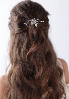 A cluster of stars is the highlight of this new July '16 FOTM available while supplies last at http://www.lillarose.biz/hairofglory #lrstyle