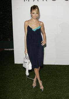 The 17 Best Slip Dresses on the Red Carpet of All Time – Vogue - Nicole Richie, March 2005 Fast Fashion, Fashion News, Fashion Show, Fitness Fashion, Lil Black Dress, Nicole Richie, Red Carpet Looks, Couture Fashion, Passion For Fashion