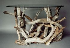 stand+driftwood+|+Driftwood+Dining+Table+/+Media+Stand+/+Coffee+Table.+Handmade+From+Re+...
