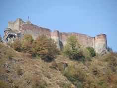 Poienari Citadel was the true castle of Vlad The Impaler, aka Dracula, built in 1459 by Turkish prisoners who were to die by impalement if they were unfortunate enough to not die while working as slave labor.
