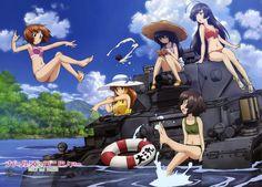 Abgefahren: Eine Truppe Mädels fährt Panzer und das aus Leidenschaft und im Bikini. Sowas gibt es nur im Anime und wir zeigen euch hier den Trailer. Girls Und Panzer der Film ab März auf Blu-ray und DVD ➠ https://www.film.tv/go/36167  #GUP #Anime #GirlsUndPanzer