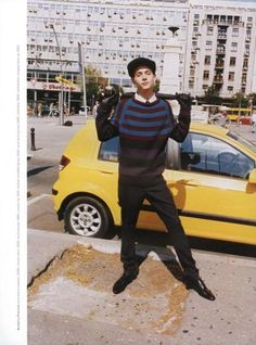 """From Belgrade With Love"" - Barney's autumn/winter 2012 editorial with Yuri Pleskun."