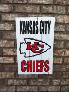 Kansas City Chiefs wall art