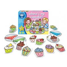 Where's my Cupcake? Collect and Match Game by Orchard Toys Available at Kids Mega Mart Shop Australia