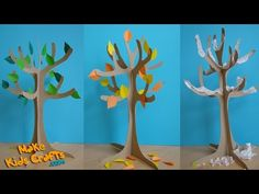 How to make a Paper Tree? - YouTube