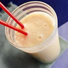 APRICOT SMOOTHIE                            1.Replace the plain yogurt with low fat Greek yogurt and you triple the protein.    2.Instead of sugar use Stevia to sweeten.    3.Rinse off the syrup from the apricots, cut in small pieces and freeze for 25 minutes.  You don't want the apricots frozen solid, just a little hard. This way you can use less  water (ice cubes) and the smoothie will be creamier.    4. This concept is great with all berries, mango, peaches (fresh or canned), necterines…