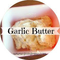 Use Garlic Butter to make any bread into garlic bread.