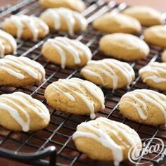 Brown Sugar Masa Shortbread with Anise Glaze from Crisco® wld. use blender to grind corn meal, put a piece of anise, low sugar