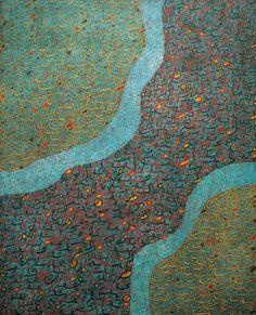 "androphilia: "" Untitled Painting By Mehdi Qotbi, 1985-1995 """