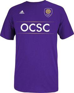 Orlando City Purple Mega Fan T-shirt Canada Soccer, Orlando City, Major League Soccer, Fan, Purple, My Style, Tees, Mens Tops, T Shirt