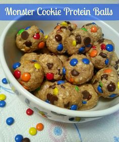 The Better Baker: Monster Cookie Protein Balls (A Healthy Choice)