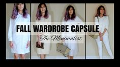 CAPSULE WARDROBE - FALL 2016 | 5 Items - 9 different outfits | Neutral Tones | Minimalist Style In todays video I am going to style 5 items to create 9 different outfits.  For those who are interested in the minimalist ideology this would be a perfect way to maximize the potential of a smaller wardrobe.  Hope youll enjoy!  Please support my channel by subscribing.  It's free :D Much Love http://www.youtube.com/subscription_center?add_user=minimaliststyling@gmail.com…