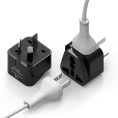 Tripshell Grounded Universal Dual Plug Travel Adapter. Australia  China-I