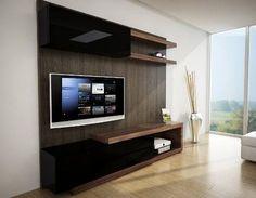 20 mejores im genes de muebles para tv tv unit furniture for Muebles modernos montevideo