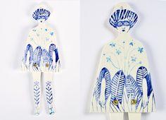 Nena selva enmascarada. Florecitas azules