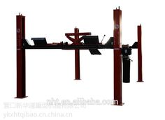 Four Post Chanllenger Hydraulic Lift for Wheel Alignment 4.0tons