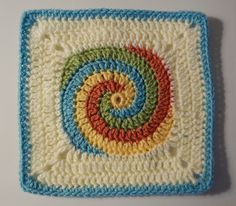 Ravelry: LissaM's Frosted Cookie Twister Granny Square