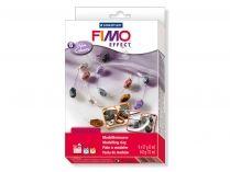 Coffret 6 pains de FIMO - couleurs glam' nacrées