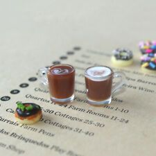 Items for sale by shaoyo-5   eBay Mini Coffee Cups, Bar Coasters, Soup Plating, Drink Holder, Toy Kitchen, Preschool Toys, Miniature Food, Dollhouse Furniture, Decorative Accessories
