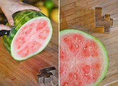 watermelon cutouts