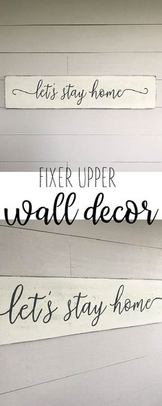 lets stay home fixer upper home decor #affiliatelink