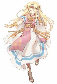 Zelda Doodle by lucidsky on DeviantArt Game Character, Character Design, Zelda Anime, Princesa Zelda, Botw Zelda, Nintendo Characters, Image Manga, Legend Of Zelda Breath, Link Zelda