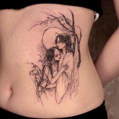 C Tattoo, Yakuza Tattoo, Mini Tattoos, Rose Tattoos, Tatoos, Cute Tattoos For Women, Anime Tattoos, Skin Art, Tatting