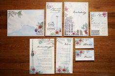 "Haute Couture Hochzeitskarten ""Berlin"" | Design: Paper & Soul"