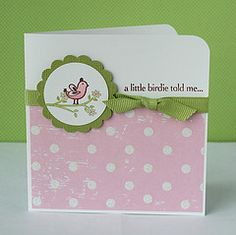 cute for a baby card