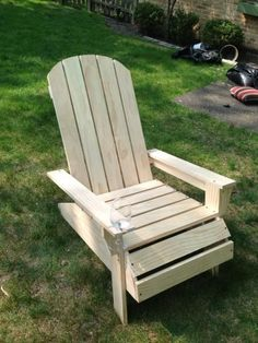 Adirondack chair | Do It Yourself Home Projects from Ana White