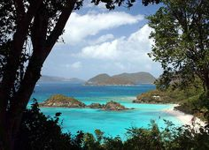 st. john island. virgin islands, USA.