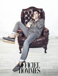 Big Bang TOP - L'Officiel Hommes Magazine November Issue '13 #TOP #ChoiSeungHyun #BigBang #L'Officiel Hommes #L'Officiel HommesMagazine #November #2013 #Korea