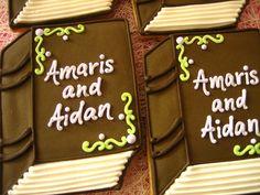 book cookies by decadent cookie, via Flickr