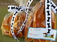 Homemade Dog Treats by The Sweet Spot Blog http://thesweetspotblog.com/homemade-dog-treats/ #dogs #treats #healthy #sweetpotato #recipes