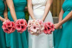 InWater florist gerbera bouquet