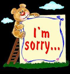 bilder sorry
