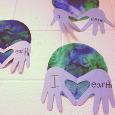 Earth Day Love craft