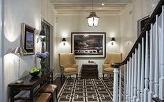 Home Improvement Archives Hardwood Floors, Flooring, Entry Way Design, Hamptons House, Dream Decor, Decor Interior Design, French Doors, Wall Sconces, Interior Inspiration
