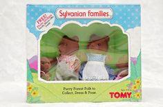 Sylvanian Families Brown Bear Family TOMY
