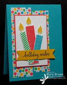 CCMC359 Build a Birthday by stampercamper - Cards and Paper Crafts at Splitcoaststampers