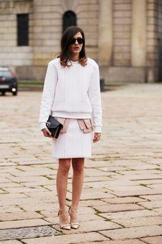 Fotos de street style en Milan Fashion Week: Eleonora Carisi
