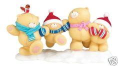 Forever Friends teddy Bear - Christmas Fun